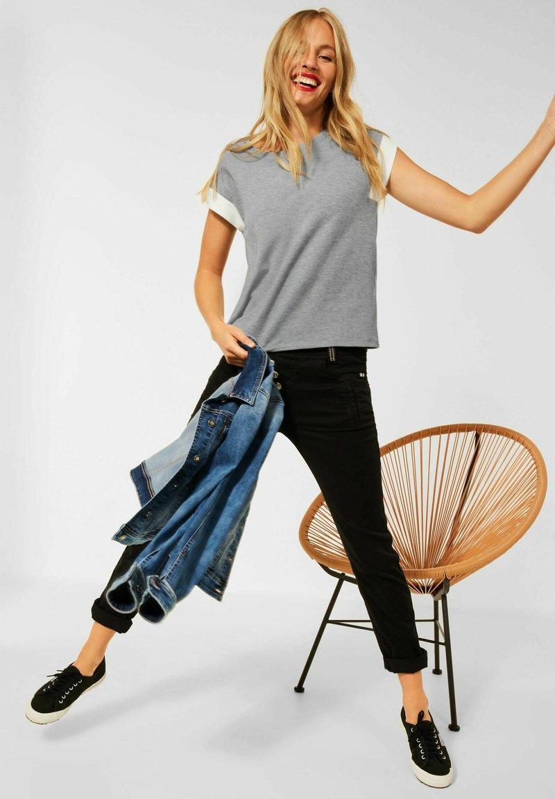 Street One - Basic T-shirt - grau