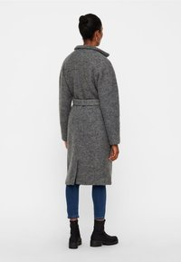 Noisy May - NMZOE  WOOLEN COAT - Classic coat - dark grey - 2