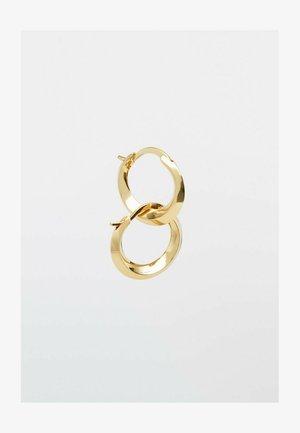 MIT KONTRASTDETAIL - Earrings - gold-coloured