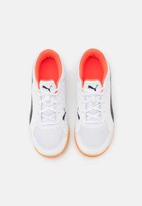 Puma - AURIZ UNISEX - Multicourt tennis shoes - white/red blast - 3