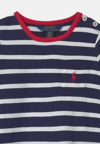 Polo Ralph Lauren - SWING  - Žerzejové šaty - french navy/white - 2