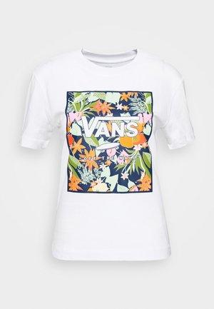SONGWRITER JUNIOR BOXY - T-shirts med print - white