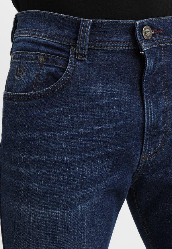 Bugatti NEVADA - Jeansy Straight Leg - blue/niebieski Odzież Męska TEEP