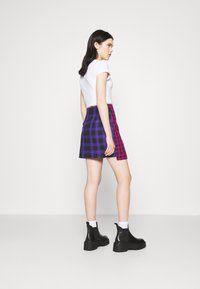 The Ragged Priest - MATTER SKIRT - Mini skirt - pink/purple/black - 2