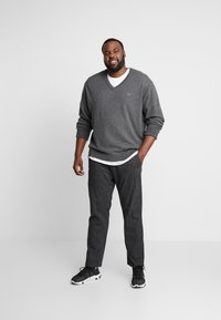 GANT - PLUS  - Jumper - dark charcoal mélange - 1