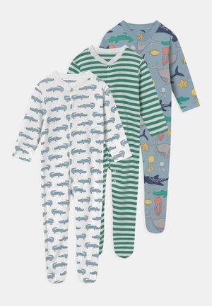 ANIMAL BABY 3 PACK UNISEX - Sleep suit - multi-coloured