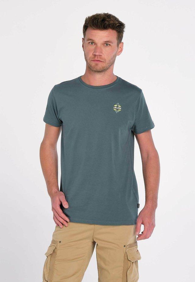 RAIN FOREST GREEN - T-shirt print - groen