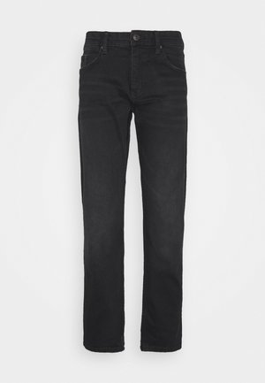 Jeansy Straight Leg - black dark wash