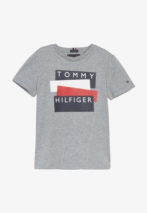 STICKER TEE  - T-shirts print - grey