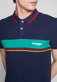 Wrangler - COLOURBLOCK - Polo shirt - navy - 3
