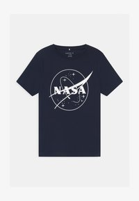 Name it - NKMNASA LUCAS  - Print T-shirt - dark sapphire - 0