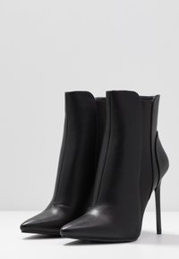 BEBO - AXELLE - High heeled ankle boots - black - 4
