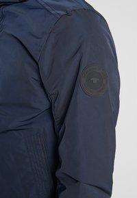 TOM TAILOR - BLOUSON WITH ZIPPERS - Light jacket - sky captain blue - 6