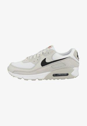 AIR MAX - Sneakers - white black light bone team orange