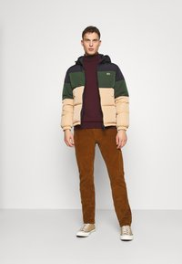 Lacoste - Down jacket - viennese/viennese-sinople-abysm - 1