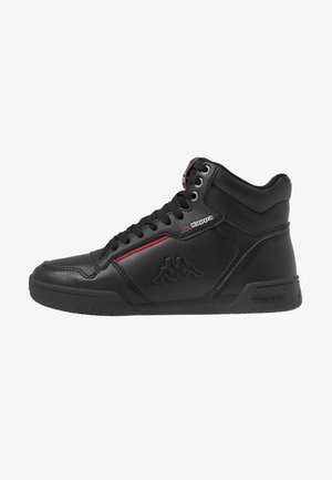 MANGAN - High-top trainers - black/red