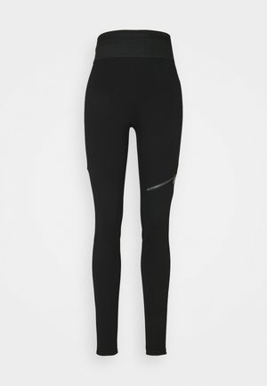 NMJACKS - Leggings - Trousers - black