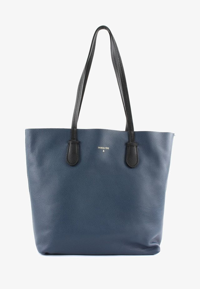 Tote bag - steel azure/nero