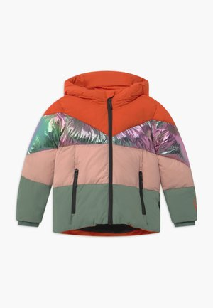 WORKING WEASEL UNISEX - Winterjas - spicy red/multi colour