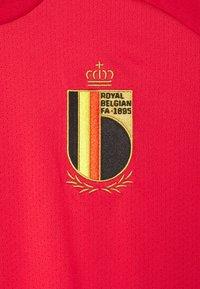adidas Performance - BELGIUM TRAINING - Klubbkläder - glow red - 2