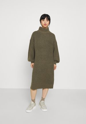 NMROBINA HIGH NECK DRESSS - Jumper dress - kalamata