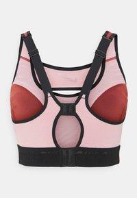Nike Performance - ALPHA ULTRABREATHE BRA - High support sports bra - canyon rust/pink glaze/black - 1