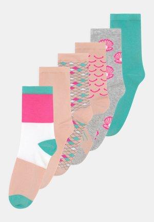 NKFFANY 6 PACK - Socks - light grey melange