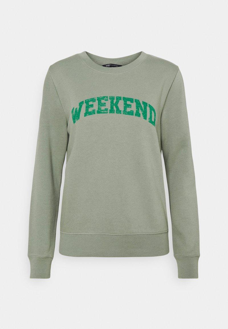 Marks & Spencer London - AUTH - Sweatshirt - khaki