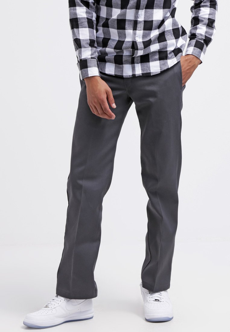 Dickies - 873 SLIM STRAIGHT WORK  - Chinos - charcoal grey
