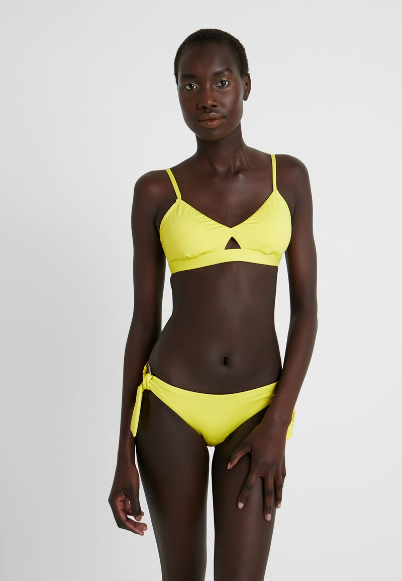 Seafolly ACTIVE HYBRID BRALETTE - Bikini-Top - lime light/hellgrün xrgePI
