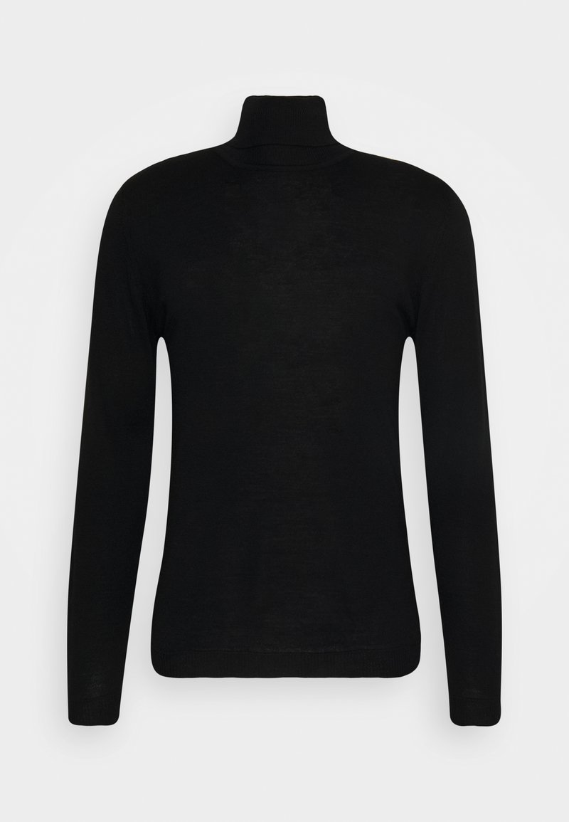 Wool & Co - ROLLI  - Svetr - schwarz