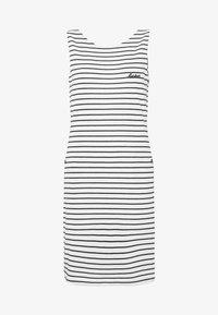 DALMORE STRIPE DRESS - Shift dress - white/navy