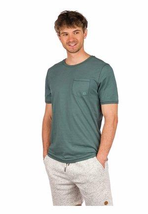 MOSS - Print T-shirt - silver pine
