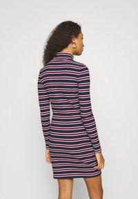 Tommy Jeans - STRIPE DRESS - Sukienka z dżerseju - twilight navy - 2