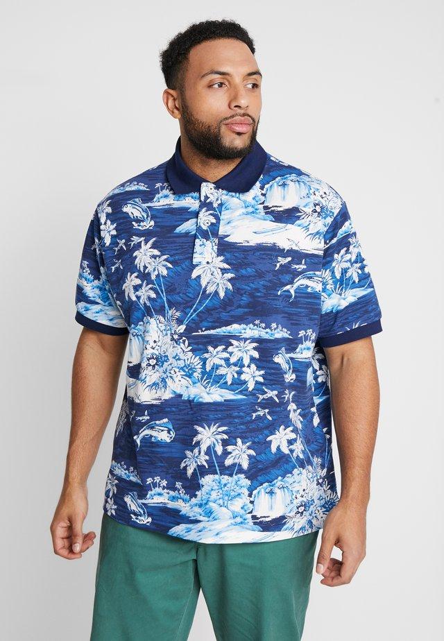 BASIC - Polo shirt - blue