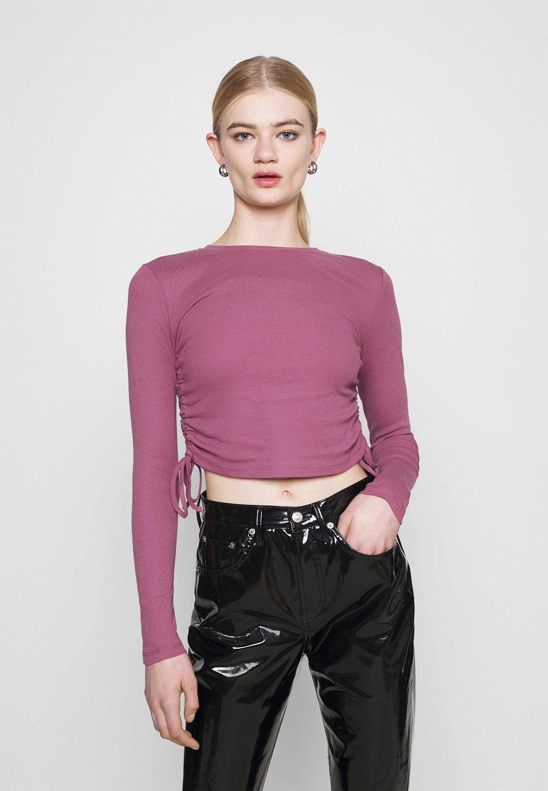 Women RUCHED  - Long sleeved top