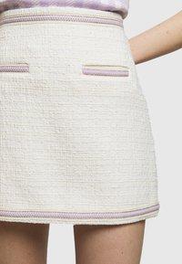 maje - JANESSA - Mini skirt - ecru - 5