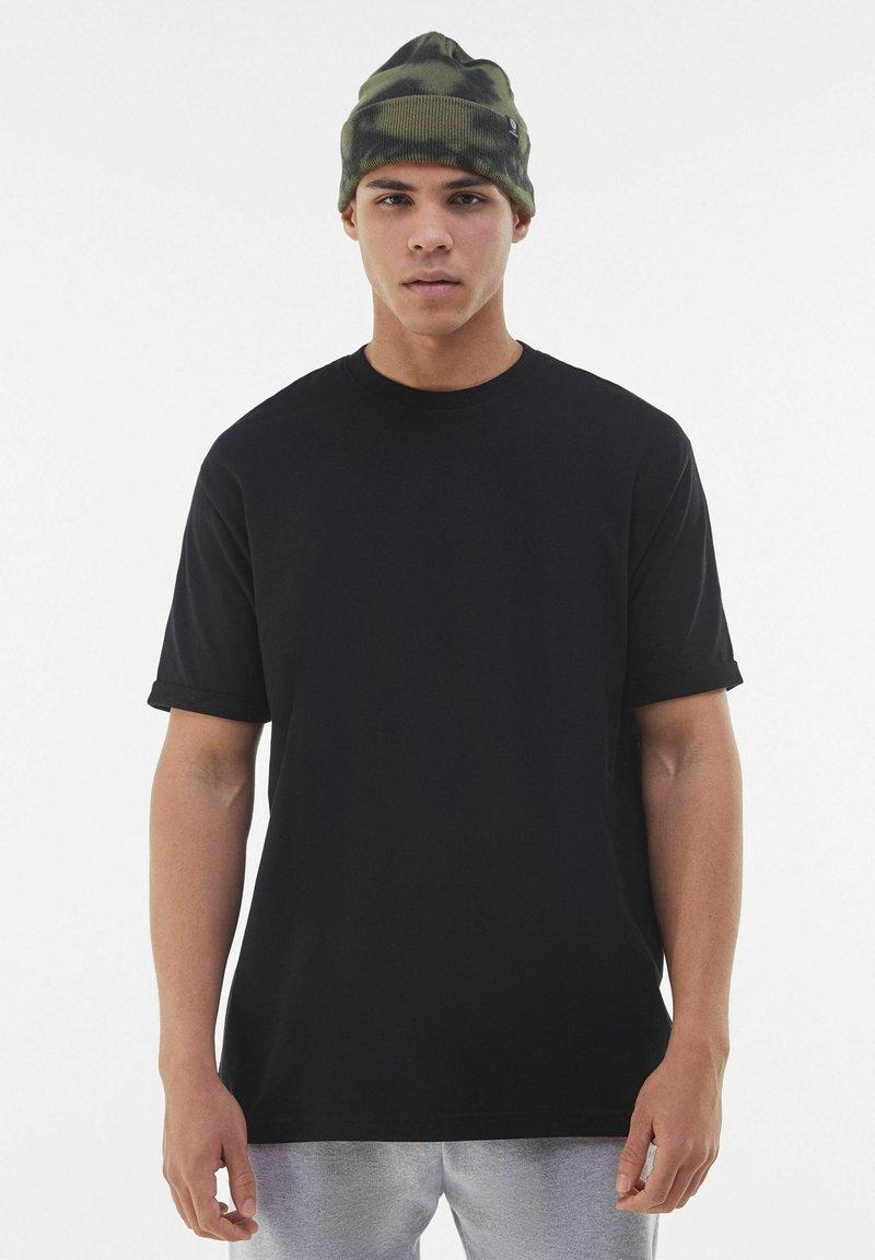 Bershka - T-shirt - bas - black
