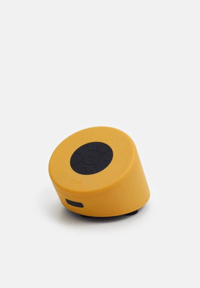 SHOWER SPEAKER - Altavoz - premium mustard