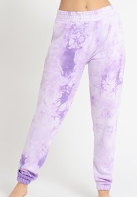 Chelsea Peers - NYC LOUNGE TIE DYE LILAC JOGGER - Tracksuit bottoms - lilac - 1