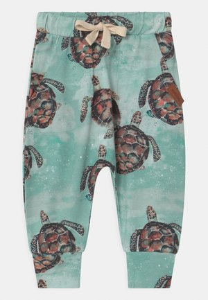 SEA TURTLES BAGGY - Trousers - blue