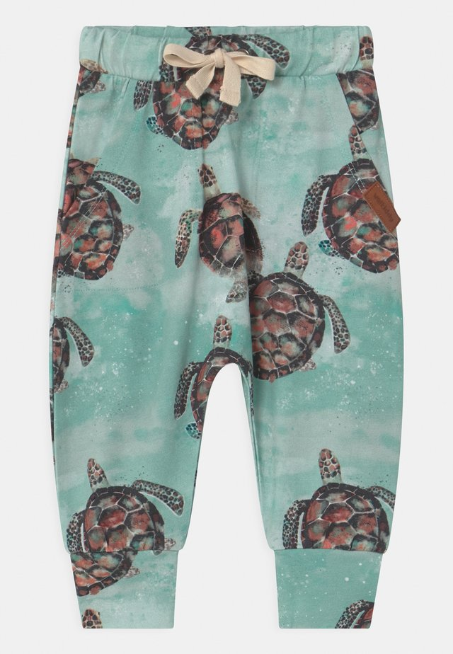 SEA TURTLES BAGGY - Pantaloni - blue