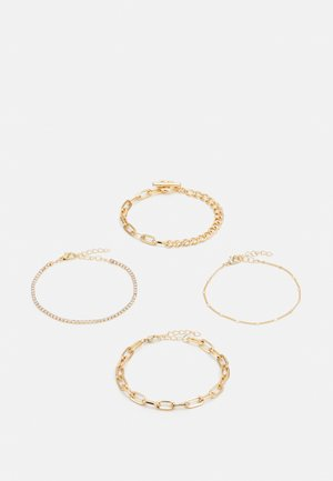 ONLVIOLA BRACELET4 PACK - Bracelet - gold-couloured