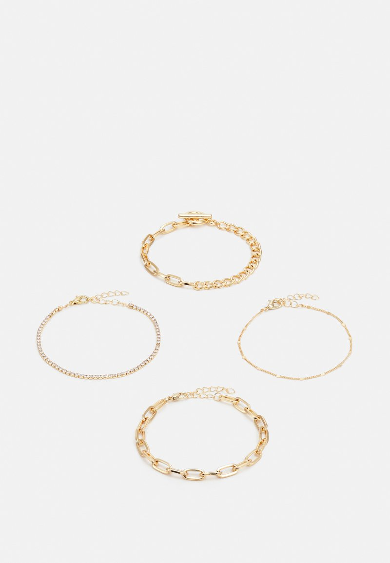 ONLY - ONLVIOLA BRACELET4 PACK - Bracelet - gold-couloured