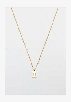 MIT BUCHSTABE H  - Necklace - gold