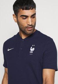 Nike Performance - FRANKREICH FFF MODERN - Oblečení národního týmu - blackened blue/white - 4