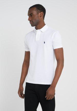 Polo Ralph Lauren SLIM FIT MODEL - Koszulka polo - company olive/oliwkowy Odzież Męska JOJS