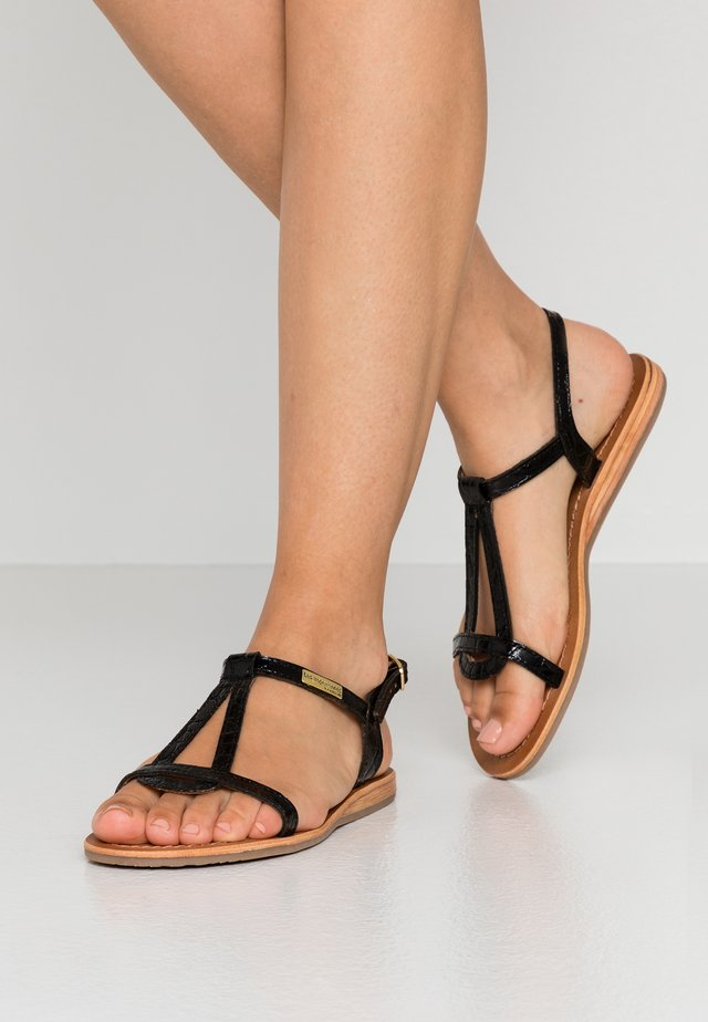 HACROC - Sandaalit nilkkaremmillä - noir