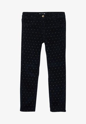 Trousers - marine bedruckt