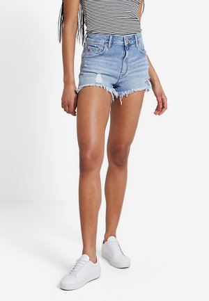 ROSIE - Denim shorts - mid retro 80's